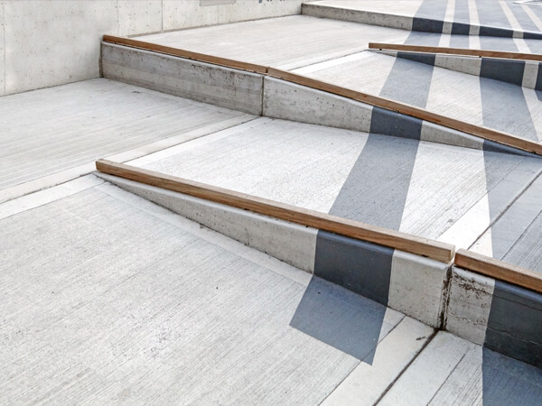 concrete ADA Compliance ramps