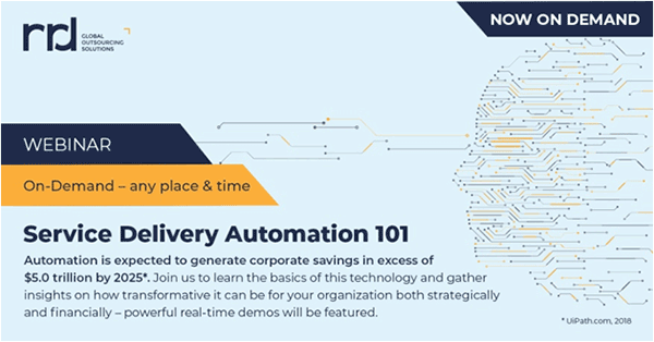 service delivery automation 101 webinar screenshot
